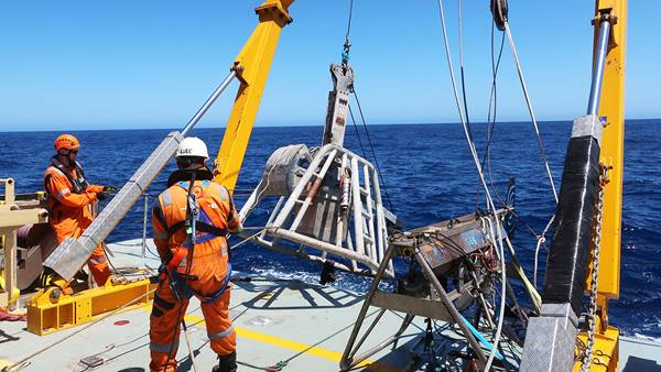 Offshore Environmental Survey, Bass Strait, Australia