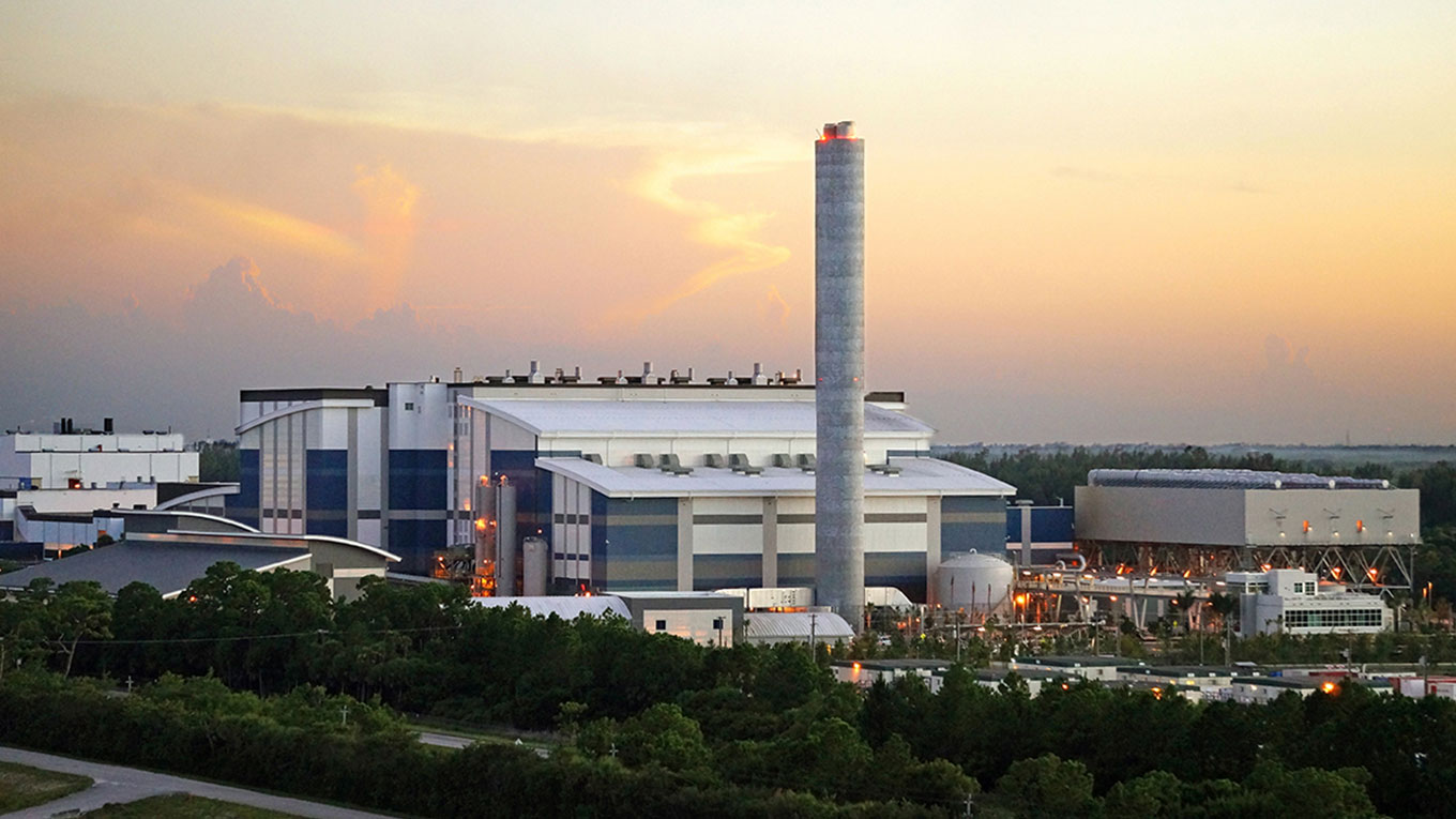 West Palm Beach waste-to-energy facility