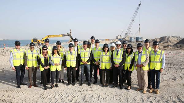 "Danish Sustainability Delegation visits IMKAN's ""Makers District"" development"