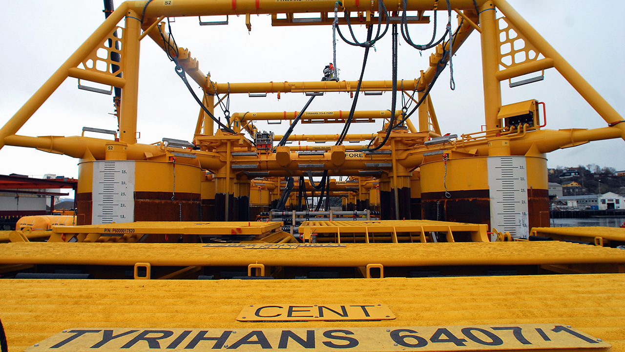 Ramboll Oil & Gas has done a detailed design project for the new pipelines and subsea structures on Tyrihans