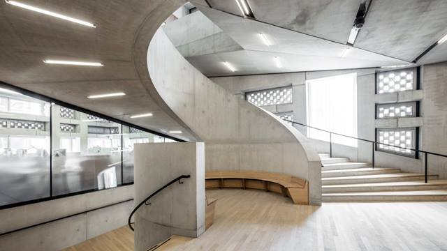 Daniel Shearing. Four distinctive boulevard stairs form part of Tate Modern's visitor circulation strategy.